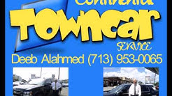 Continental' Town Car & Limo Services (Airport Transportation Houston Hobby Intercontinental Area)