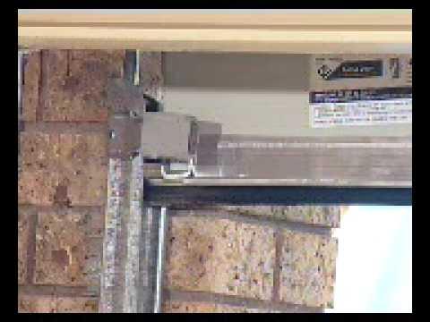 Garage doors garador r2 roll a door installation part 2 - Garage door installation instructions ...