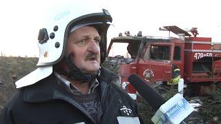 Pożar lasu w Borzęcie - spłonął również wóz strażacki OSP Trzemieśnia