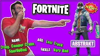 NEW ABSTRAKT Outfit & Renegade Roller / GiveAway / Fortnite