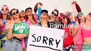 Sorry Justin Bieber Song Dance In Ramher S R
