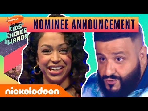 Liza Koshy & 2019 KCA Host DJ Khaled Reveal This Year's Nominees | Nick