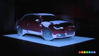 Audi A1 Car projection mapping thumbnail
