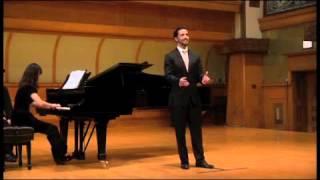 """Pablo Siqueiros """"Treue liebe dauert lange"""" Johannes Brahms"""