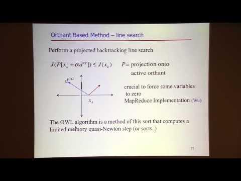 "Jorge Nocedal: ""Tutorial on Optimization Methods for Machine Learning, Pt. 3"""