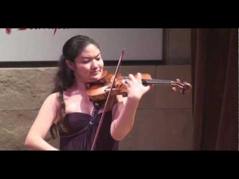 Jinjoo Cho en la semifinal del Concurso de Violín Buenos Aires 2010 / Violin Competition