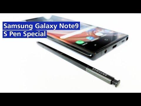 Galaxy Note 9: alle S-Pen Features & Funktionen (deutsch HD)