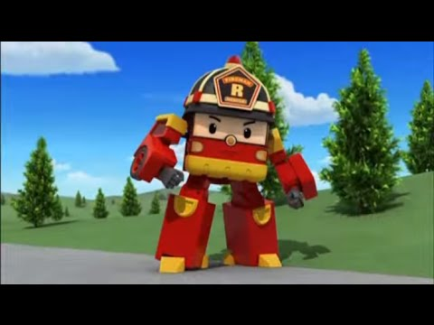 Робокар Поли - Трансформеры - Суета вокруг мусора (мультфильм 28)