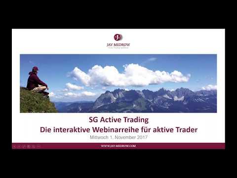 SG Active Trading 01.11.2017 mit Exklusiv-Gast Jay Medrow!