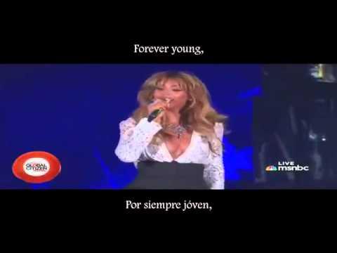 Jay Z Ft Beyoncé Young Forever Lyrics Subtítulos Español Global Citizen Festival 2014 Youtube