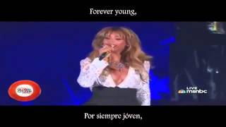 Jay Z Ft  Beyoncé   Young Forever Lyrics   Subtítulos Español Global Citizen Festival 2014