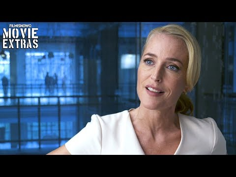 "THE SPY WHO DUMPED ME | On-set Visit With Gillian Anderson ""Wendy"""