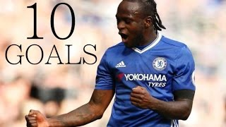 Victor Moses - First 10 Goals For Chelsea FC - Back in 2012/13 - HD
