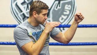 Боевая стойка и прямые удары - Как стать боксером за 10 уроков #2