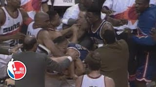 Knicks vs. Suns '93 brawl leads to six ejections, NBA rules overhaul | ESPN Archives