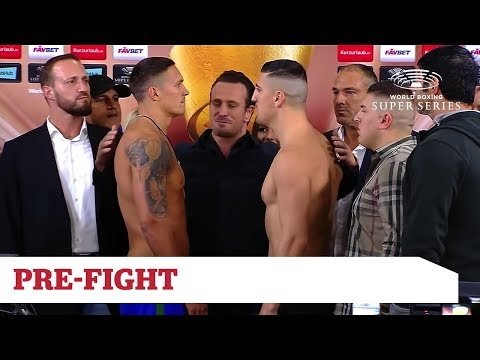 World Boxing Super Series - Usyk vs Huck - Public Weigh In