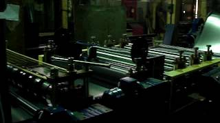 Продольная резка металла на линииАЛР 1250  на штрипсы(видео 4., 2017-02-27T11:46:49.000Z)