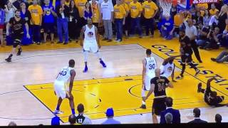 2016 NBA FINALS GAME 7 -LAST MINUTE GOLDEN STATE WARRIORS VS CLEVELAND CAVALIERS