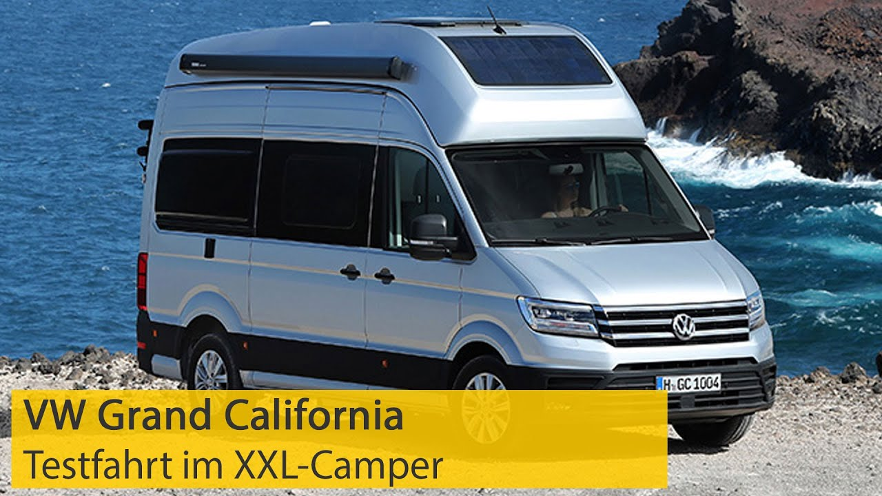 VW Grand California: Testfahrt im XXL-Campingbus  ADAC
