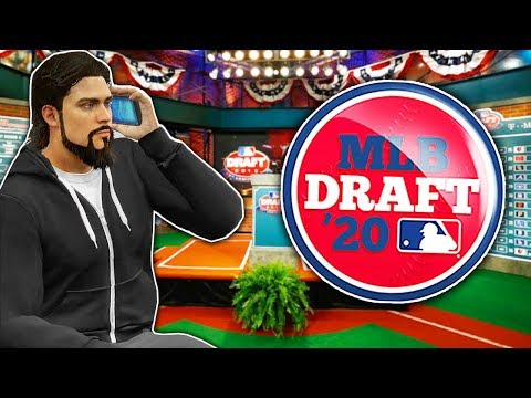 GETTING DRAFTED TO THE MLB! MLB The Show 20   Road To The Show Gameplay #1