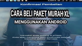 APK Modif untuk beli paket XL Super Murah