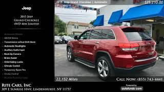 Used 2015 Jeep Grand Cherokee   Rite Cars, Inc, Lindenhurst, NY