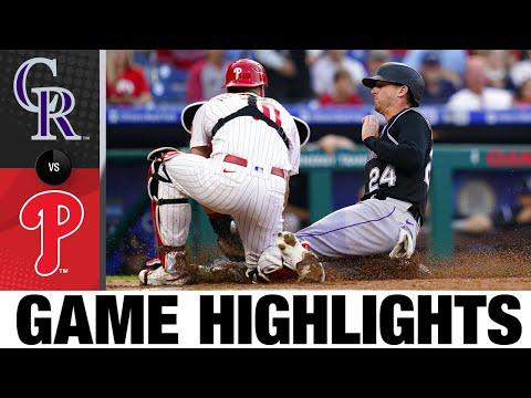 Rockies vs. Phillies Game Highlights (9/11/21)   MLB Highlights  