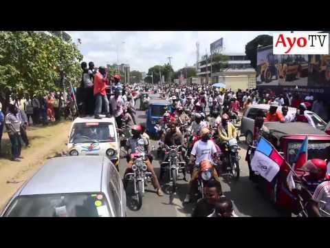 Msafara wa Lowasa Kuchukua fomu ya Urais UKAWA: Aisimamisha Dar es salaam kwa masaa 10