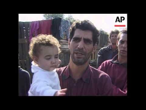 Slovakia - Exodus of gypsies
