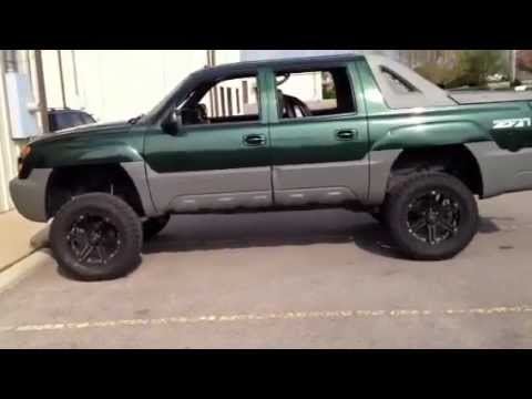 Tuff AT T01 Offroad Wheels 2005 Avalanche Lifted 6 inches  YouTube