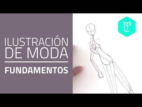 Cómo dibujar poses de figurines de moda