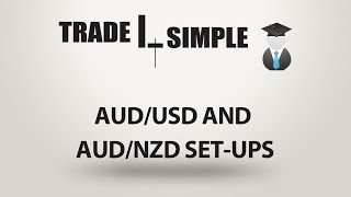 Learn Forex - set-ups on AUD/USD and AUD/NZD 07/03/2017