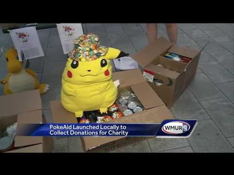 'Pokemon Go' players in N.H. aim to help others with 'PokeAid'