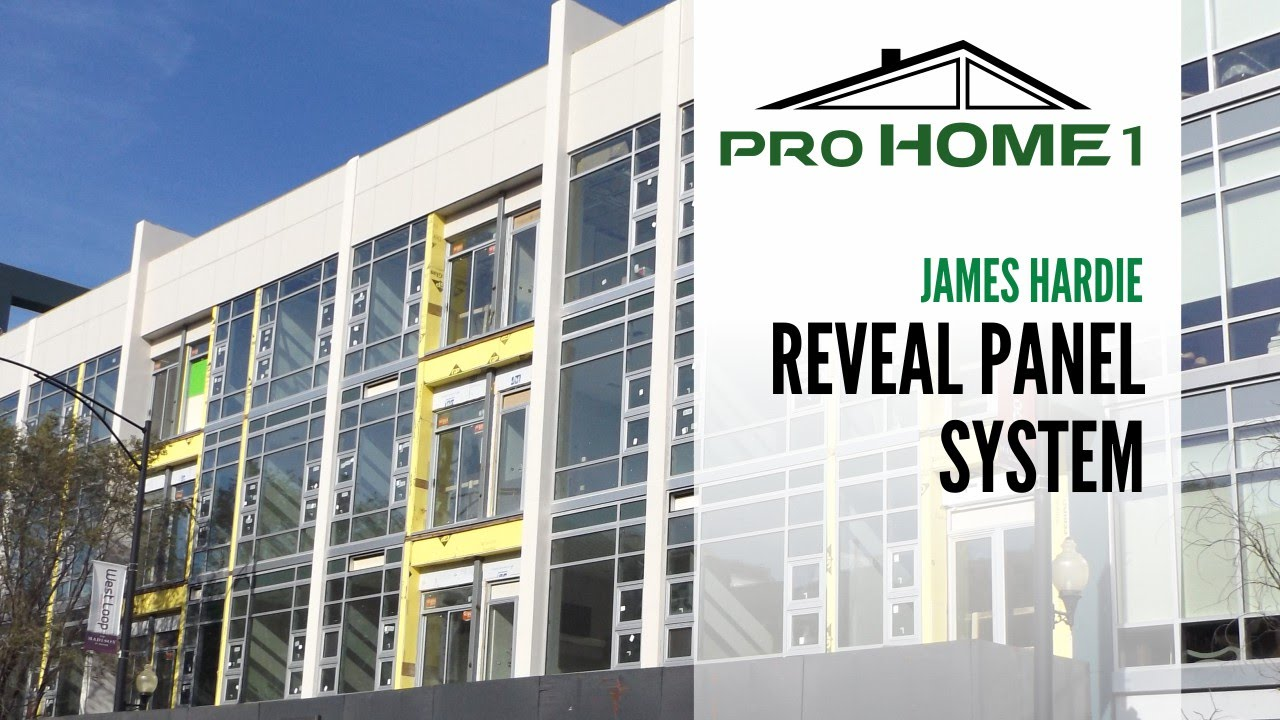 James Hardie Reveal Panel System 630 581 7322 Youtube