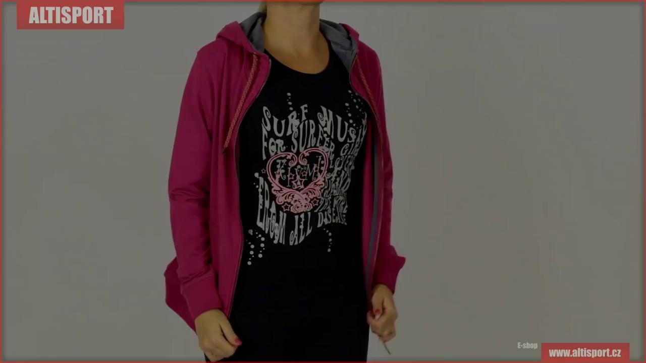 dámská mikina s kapucí loap matilda olw1818 růžová - YouTube 40a5acdca5
