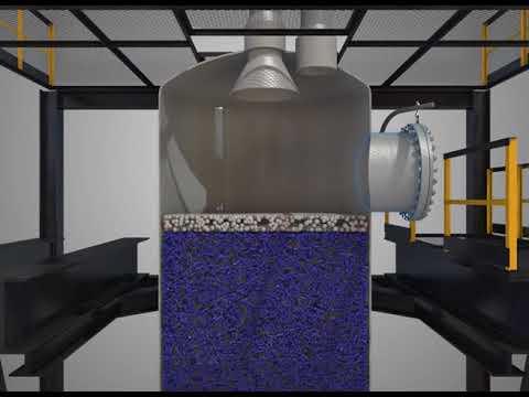 Реактор со стационарном слоем катализатора