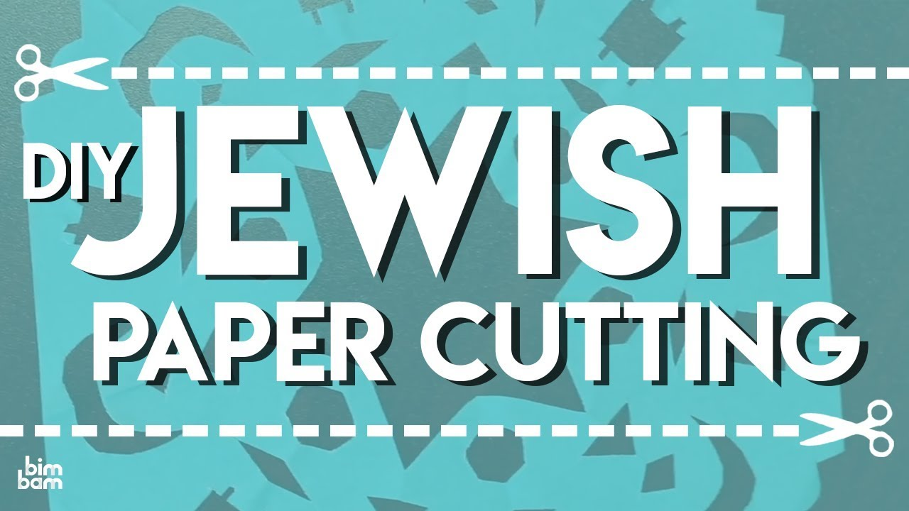 Diy Jewish Paper Cutting A Fun Craft Project For Kids Youtube