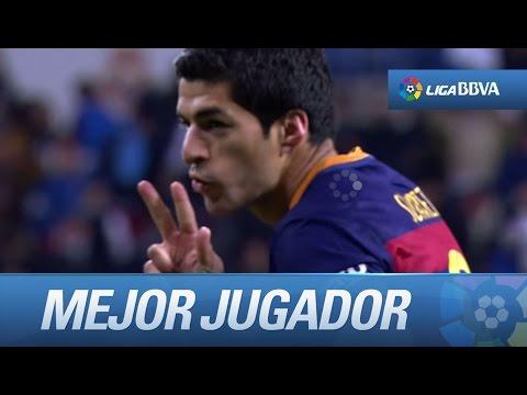 Luis Suárez es el mejor jugador de la Jornada 12 por su actuación frente al Real Madrid