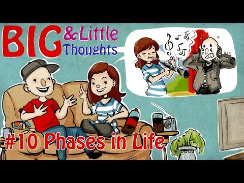 Big and Little Thoughts - Phases