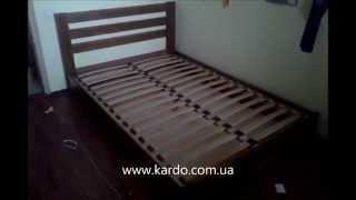 Двуспальная кровать с подъемным механизмом и ящиком для белья. Двуспальная кровать Селена из бука.(, 2014-09-14T11:42:35.000Z)
