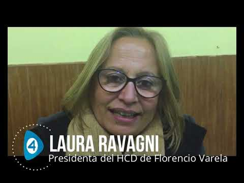 """Laura Ravagni luego de la visita de Agustín Rossi a Florencio Varela: """"Los argentinos saben que está en el peronismo la alternativa a tanto dolor"""""""