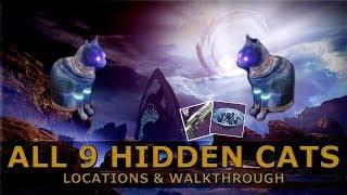 Destiny 2 Forsaken - Alle 9 versteckten Katzen | Ein kleines Geschenk