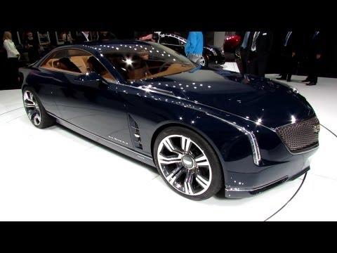 2015 Cadillac Elmiraj Concept - Exterior and Interior Walkaround - Frankfurt Motor ...
