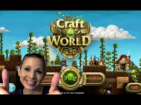 Craft the World Tutorial/Lets' Play (2014) - Episode 1 |
