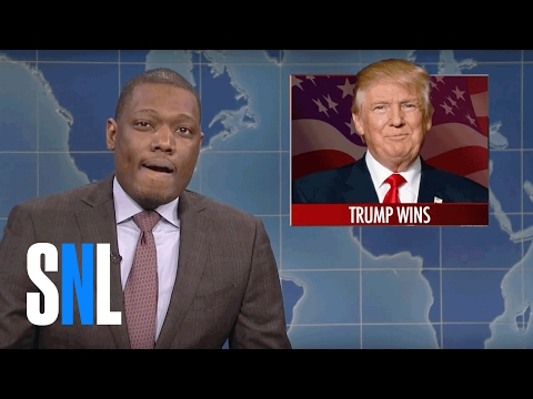 Weekend Update on President-elect Donald Trump - SNL
