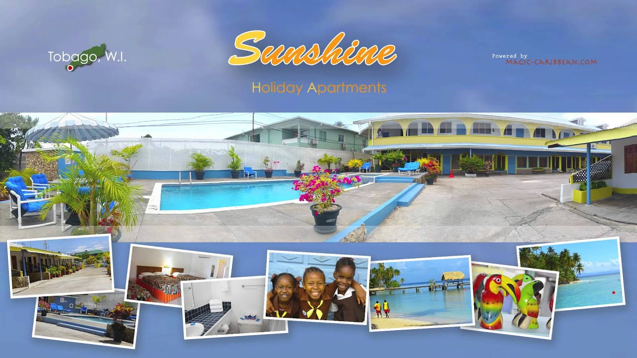 Sunshine Apartments Tobago, W.I.