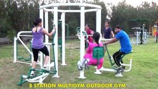 8 STATION MULTIGYM OUTDOOR GYM