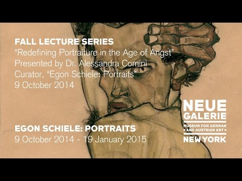 """Redefining Portraiture in the Age of Angst,"" a lecture by Dr. Alessandra Comini"