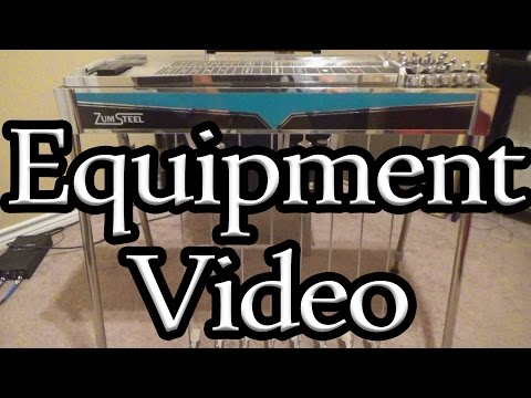 Equipment & Setup | Pedal Steel Guitar | SteelPicking | 2017