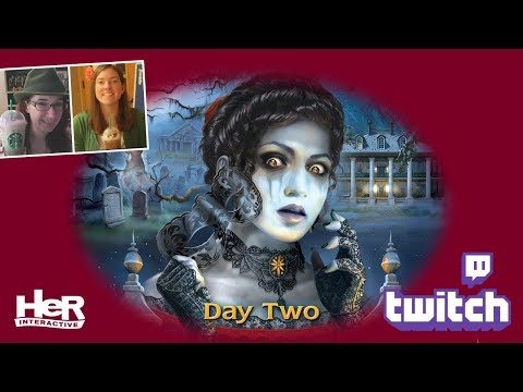 Nancy Drew: Ghost of Thornton Hall [Day Two: Twitch] | HeR Interactive